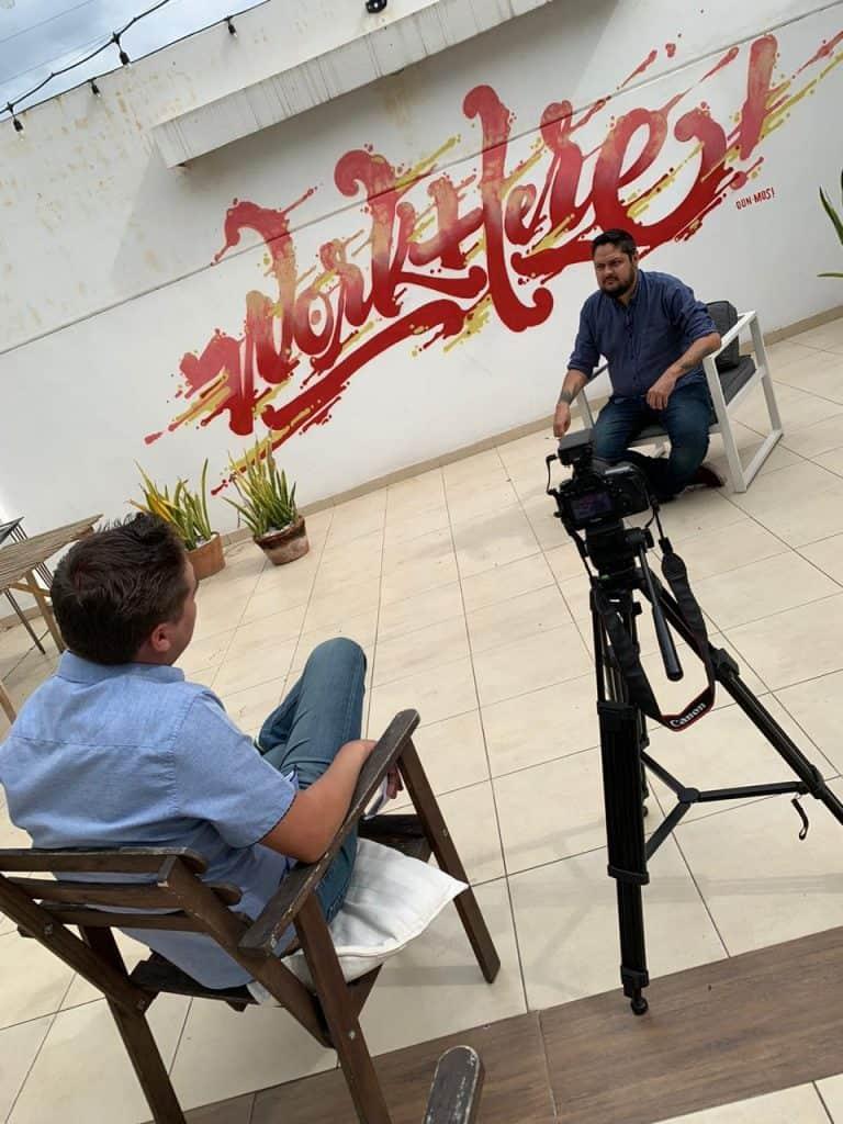 Osvaldo Torres entrevista para Interesante.com