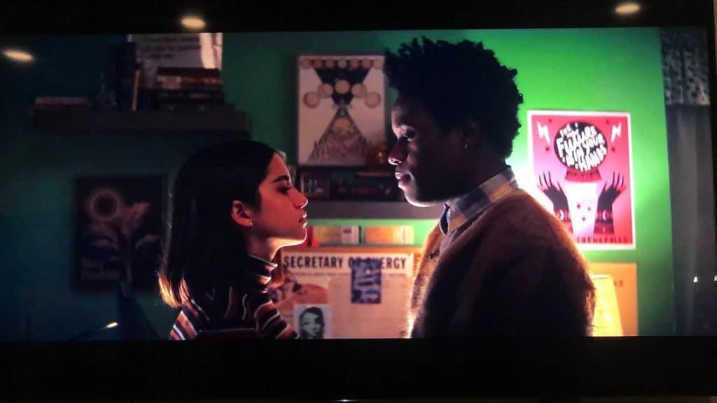 Leti it snow película de Netflix con posters de Walkwoke