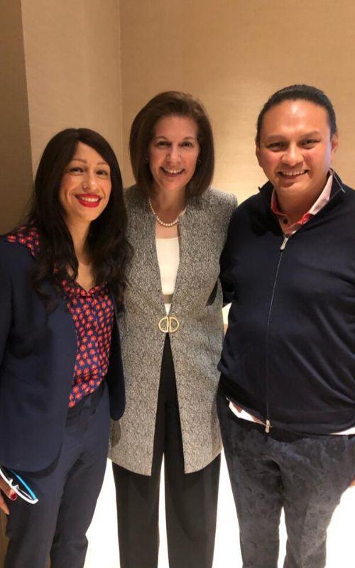 Catherine Cortez Masto con Rebecca Padnos Altamirano