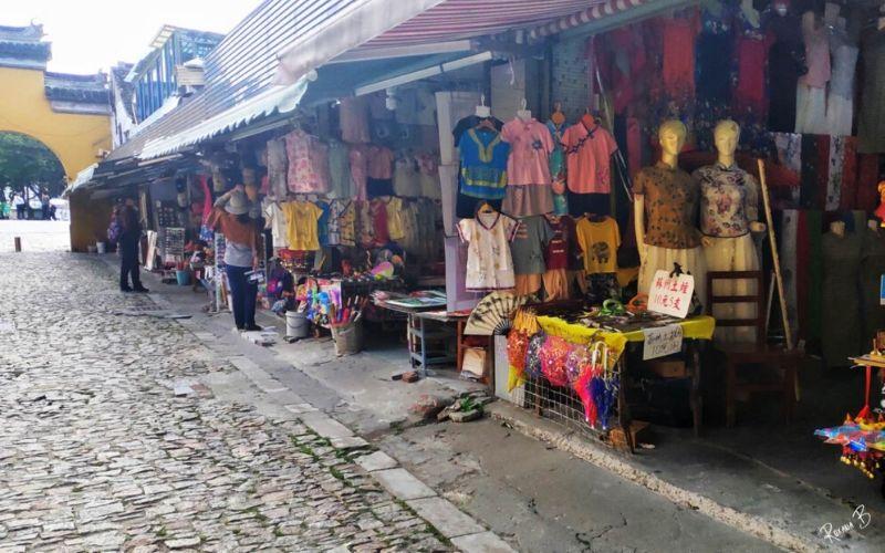 Comercios en China actualmente están abiertos al público.