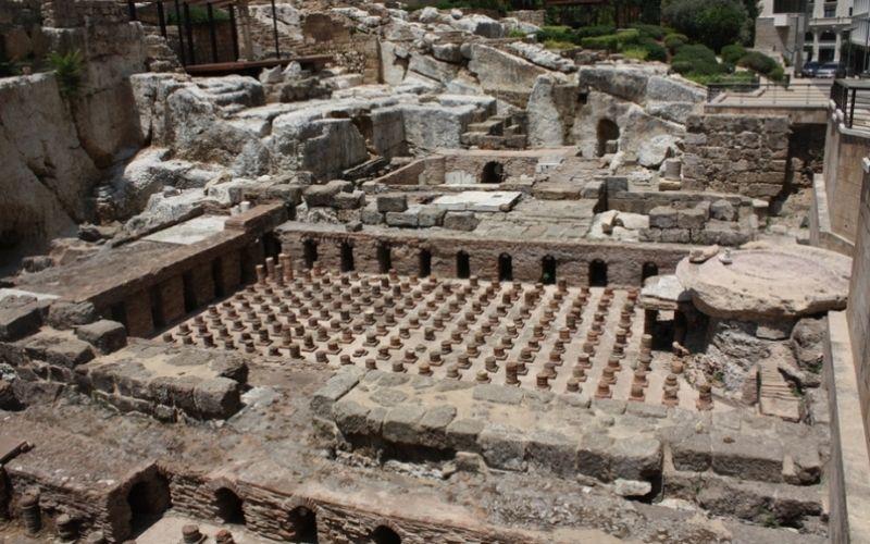 Baños romanos en Beirut