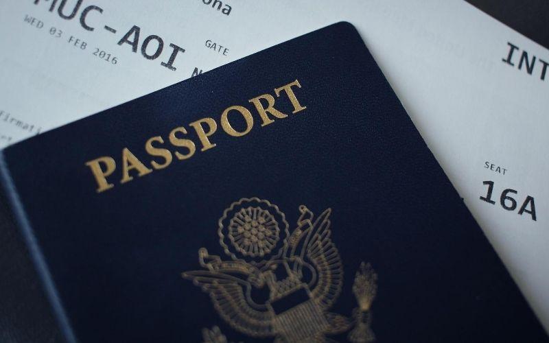 pasaporte y visa de turista para viajar a Estados Unidos