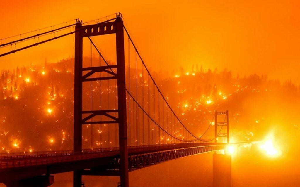 Incedio San Francisco, California