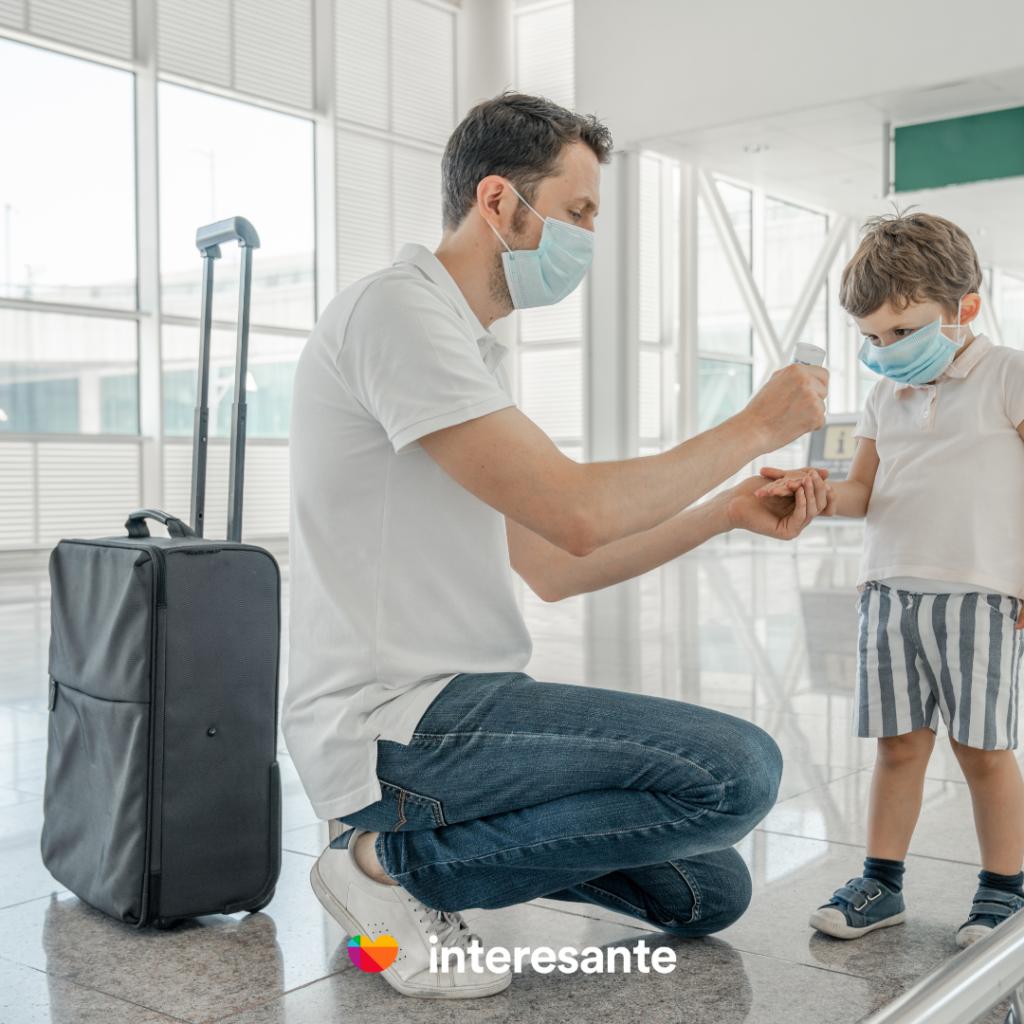 requisitos de salud para viajar durante covid-19 con niños