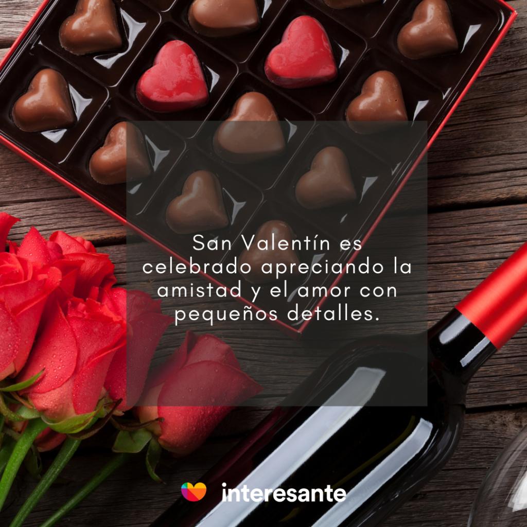 ¿Cómo se festeja el día de San Valentín?
