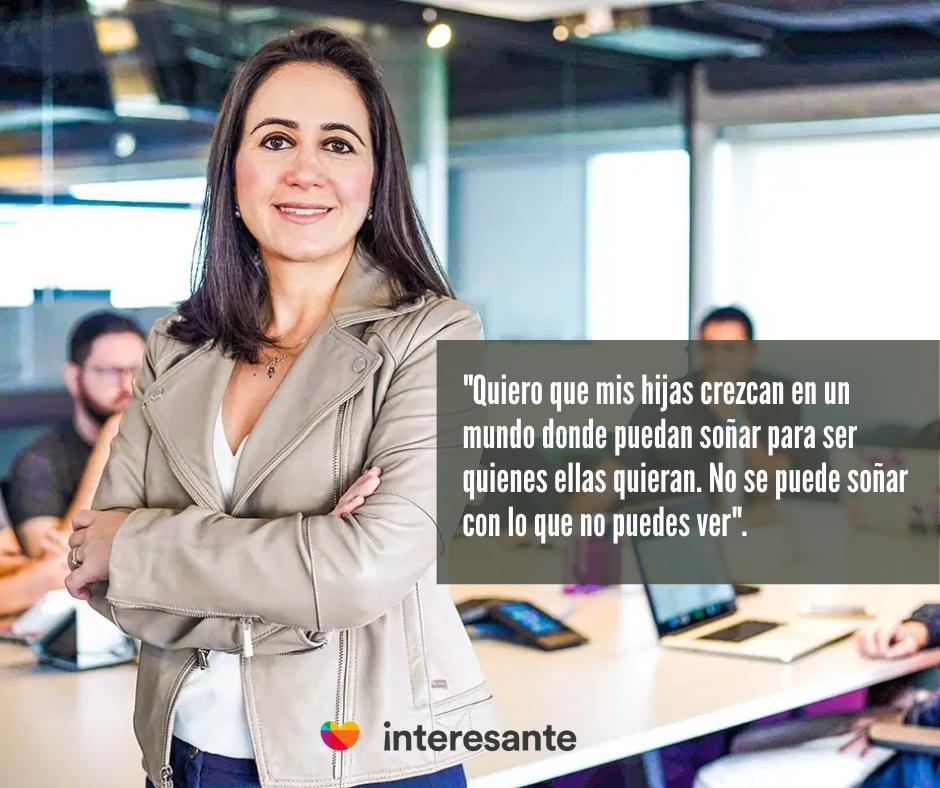 Cristina Junqueira, mujer emprendedora