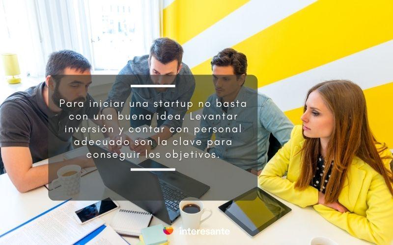 Frase para iniciar una startup