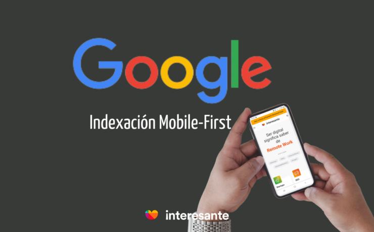 Portada Indexación Mobile First