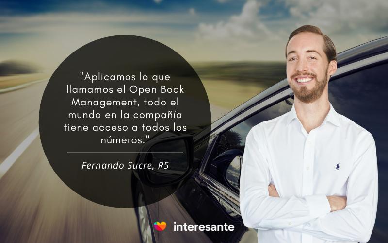 Frase R5 Fernando Sucre