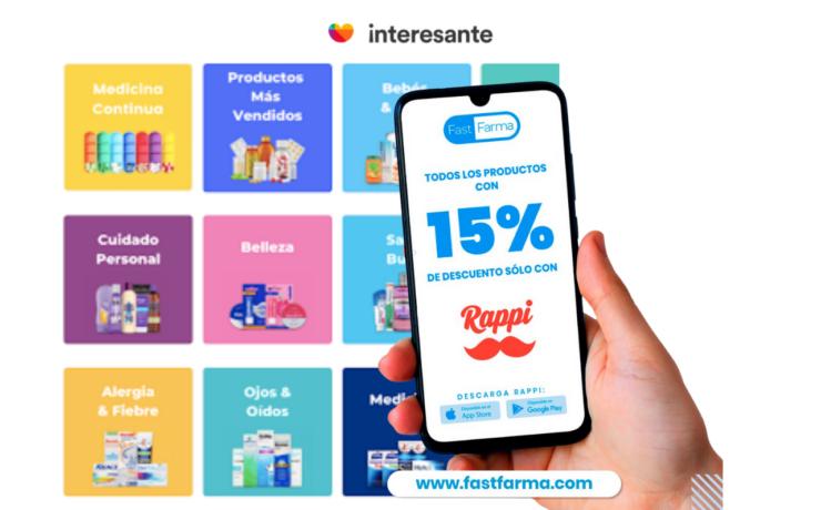 Portada FastFarma app